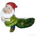 polyresin gnome statue garden gnome