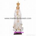 Polyresin Fatima Statue Resin Fatima