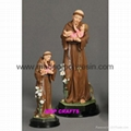 Polyresin Saint Anthony Resin Anthony Sculpture