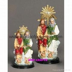 Polyresin Holy Trinity   Resin Holy Trinity