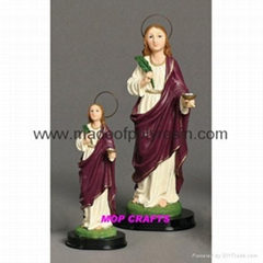 Polyresin Saint Lucy Resin Saint Lucy