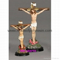 Polyresin Crucifixion Resin Crucifixion