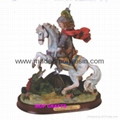 Polyresin Saint George