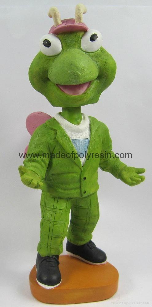 Customized Mascot Bobble Head, Polyresin Mascot Bobblehead 1