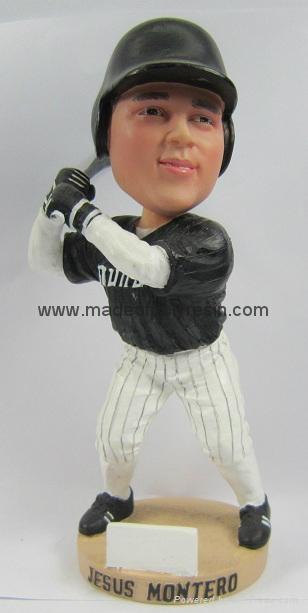 Polyresin Baseball Bobble Head