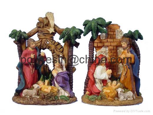 polyresin catholic figurine, christian religious statue 1