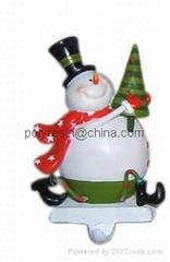 resinic snowman,christma