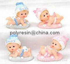 poly-resin baby decor,baby figurine,baby figure