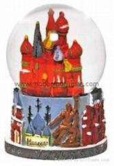 poly-resin tourism souvenir gift OEM & ODM, resin snowdomes