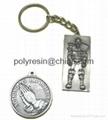 polyresin keychain,keychain souvenir gifts