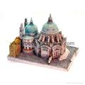 polyresin building,resin miniature,house