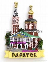 Polyresin Russian Touris