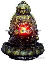 polyresin buddha,resin buddha 1