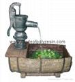 polyresin outdoor fountain,garden fountain,pump fountain