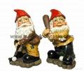 polyresin gnome,gnome statue,gnome crafts,gnomes sculptures