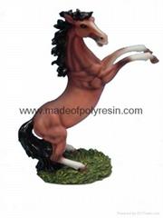 gift polyresin,gifts polystone pony,gift resinic horse