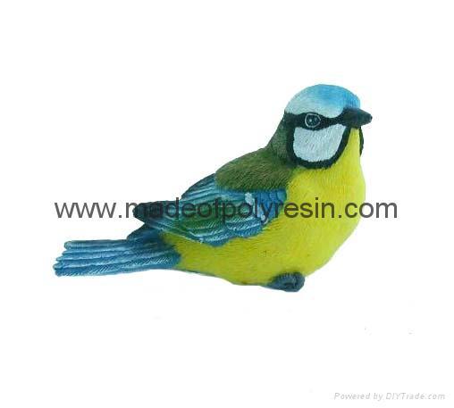 polyresin 3D birds magnet,resin 3D birds 1