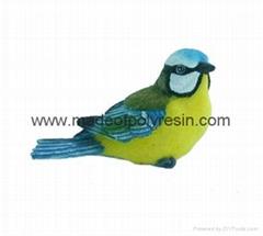 polyresin 3D birds magnet,resin 3D birds