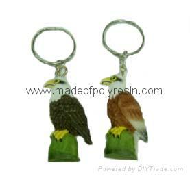 polyresin key ring, resin key ring souvenir