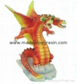 polyresin dragon,resin dragon statue