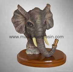 animal polyresin,polyresin elephant, animal statue
