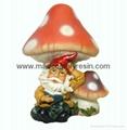 polyresin dwarf, resin garden dwarf