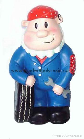 polyresin cartoon, resin cartoon figurine,cartoon gifts 1