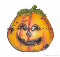 Halloween pumpkin,polyresin pumpkin,pumpkin gift