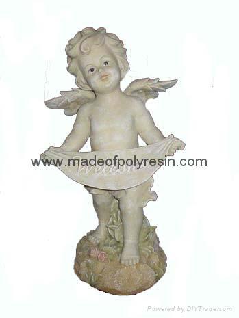 polyresin angel,standing garden angel,angel statue,angel figurine 1