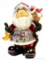 polyresin christmas, resin christmas, christmas statue