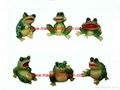 polyresin frog