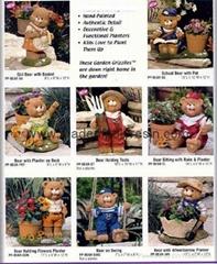 poly resin Bear series, bear crafts, bear arts