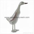 polyresin garden duck, garden ornament,garden decoration