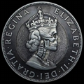 Skull Coin in 3D with Pewter Gifts Decoration