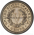 MPRF2008-Zinc Alloy Coin with Engraved Picture