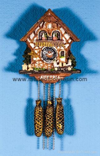 Polyresin Cuckoo clock - Kuckucksuhr souvenir gifts 1