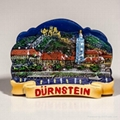 Polyresin Magnet of Durnstein Night View