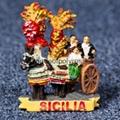 Polyresin Italy. Sicily. Sicilian Cart