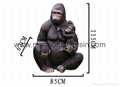 Garden Decoration King Kong Life Size