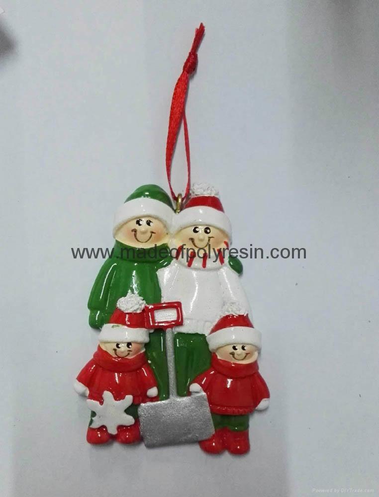 High quality polyresin christmas ornament gifts 1