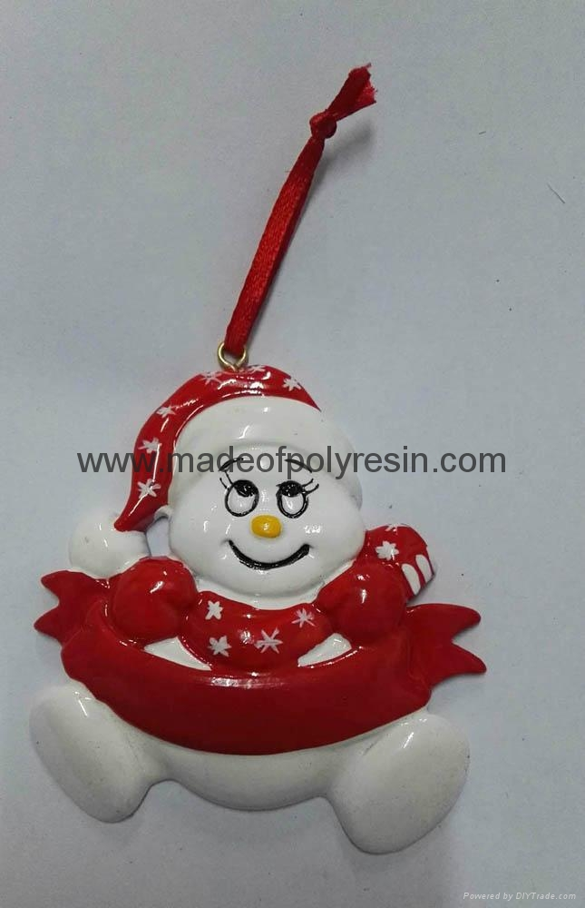 Polyresin Christmas Hanging Ornaments For Kids 1