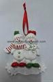 Polyresin Christmas Snowman Hanging