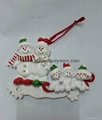 Polyresin Christmas Ornament-snowman