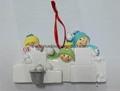 polyresin snowman Christmas hanging