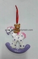 Polyresin personalized Christmas decoration resin Christmas  Bear 1