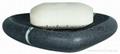 Spirella Etna Stone Soap Dish Polyresin