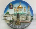 Russian Church plate souvenir crafts