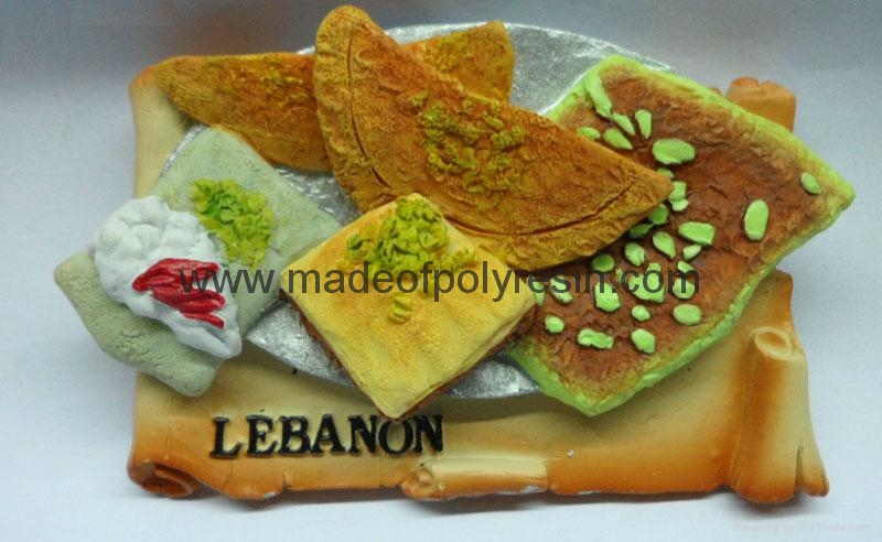 Resin Lebanon tourist gifts