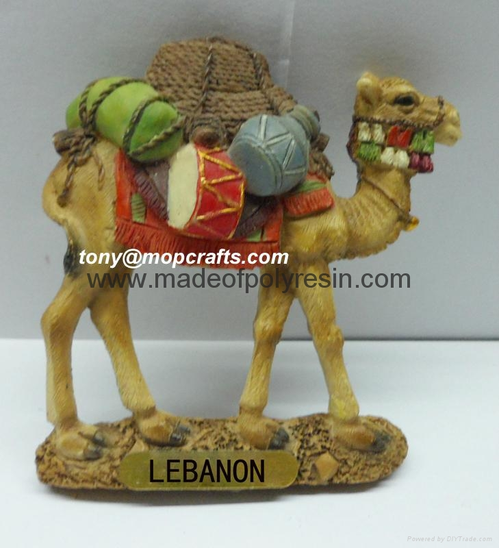 Polyresin camel of middle east souvenir gifts