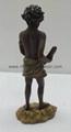 Statue Aboriginal with Didge